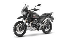 Moto Guzzi V85 TT 2021: i cerchi possono ospitare pneumatici tubeless