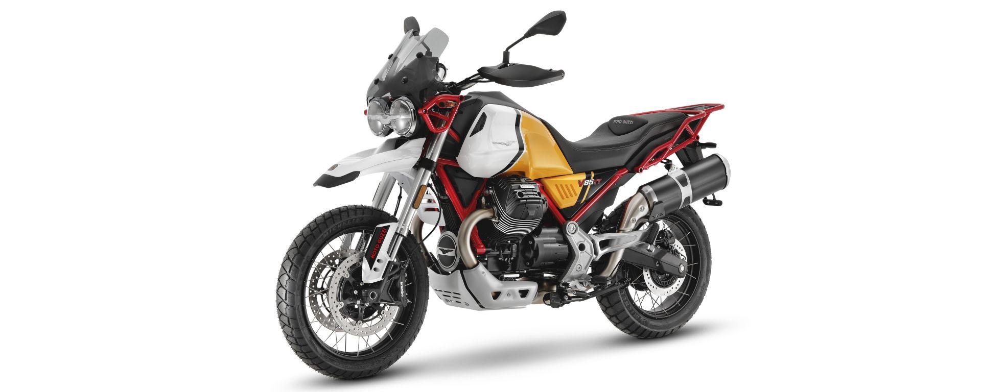 Moto Guzzi V85 TT 2021: le novità