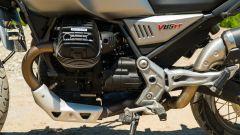 Moto Guzzi V85 TT, il motore