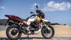 Nuova moto guzzi V85 TT richiamo trasmissione pedane