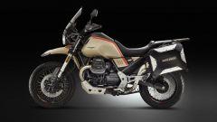 Moto Guzzi V85 TT Travel 2020: vista laterale