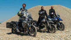 Moto Guzzi V85 TT, Triumph Tiger 800 XRT e Suzuki V-Strom 1000 XT: la comparativa delle enduro medie