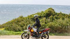 Moto Guzzi V85 TT: un momento del nostro primo contatto dinamico con la V85TT