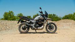 Moto Guzzi V85 TT: vista laterale