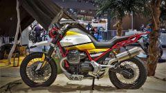 Moto Guzzi V85: vista laterale
