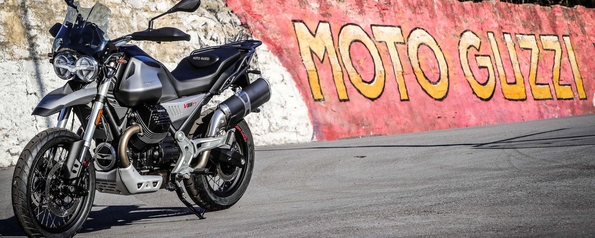Moto Guzzi V85TT: successo europeo, già 8.000 i test ride prenotati
