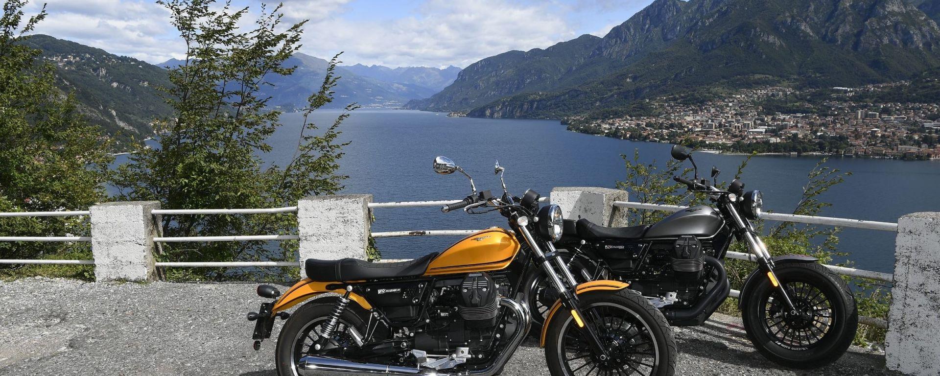 Moto Guzzi V9 Bobber e Roamer 2017