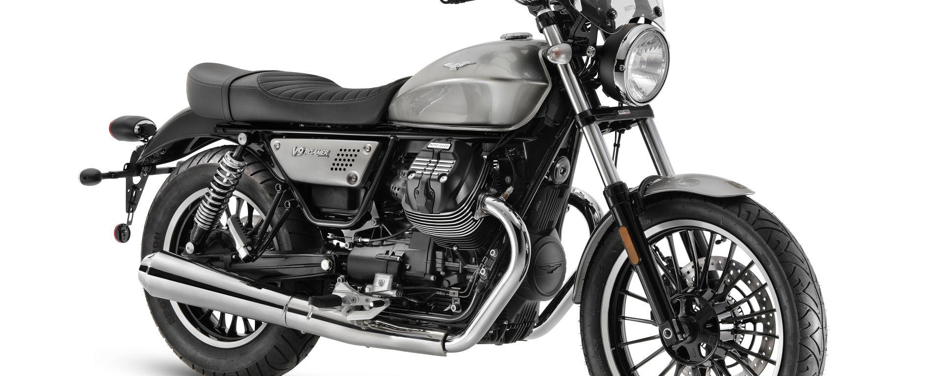 Moto Guzzi V9 2021: ecco quanto costano Bobber e Roamer