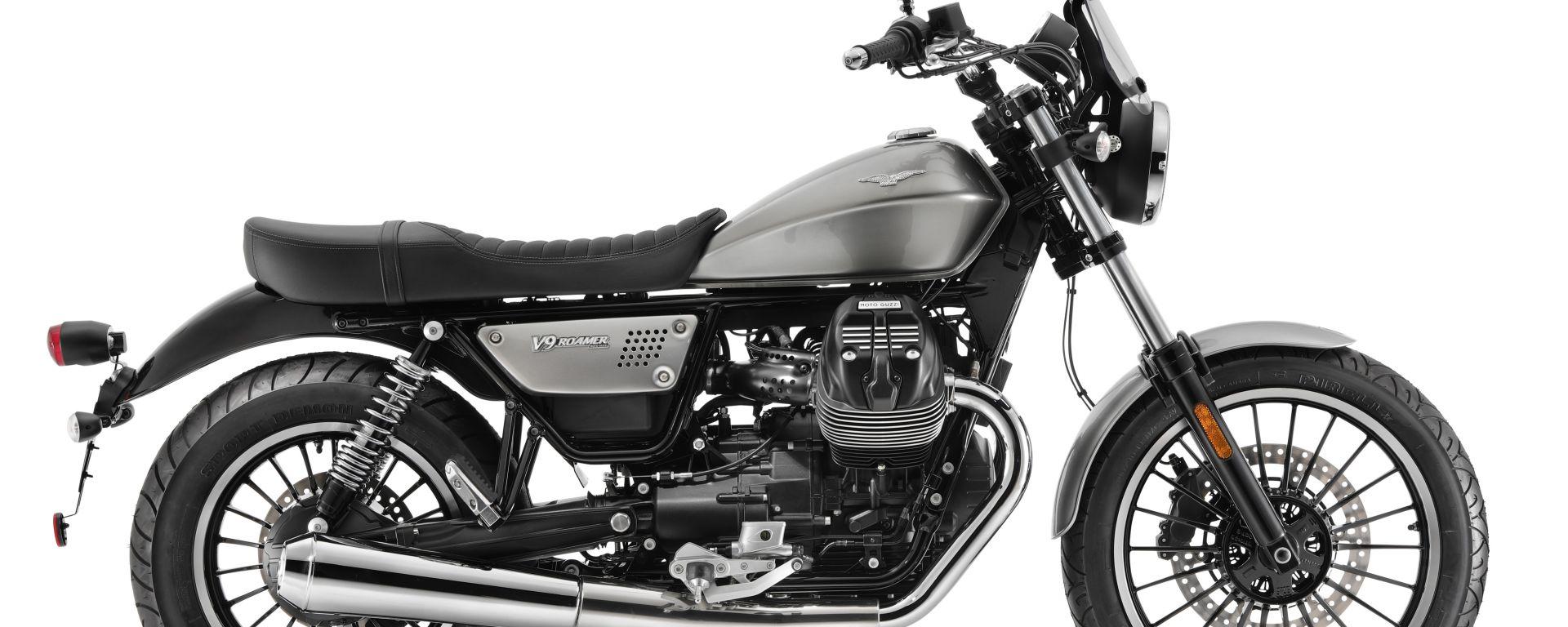 Moto Guzzi V9 Bobber e Roamer. Ecco come cambiano per il 2021