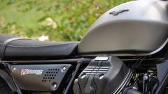 Moto Guzzi V9 Bobber, la sella