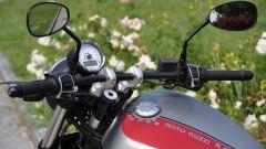 Moto Guzzi V9 Bobber, manubrio