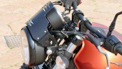 Moto Guzzi V9 Bobber Sport: il cupolino in alluminio