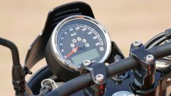 Moto Guzzi V9 Bobber Sport: il quadro strumenti