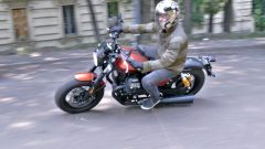 Moto Guzzi V9 Bobber Sport: la prova su strada