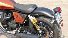 Moto Guzzi V9 Bobber Sport: la sella monoposto in stile bobber