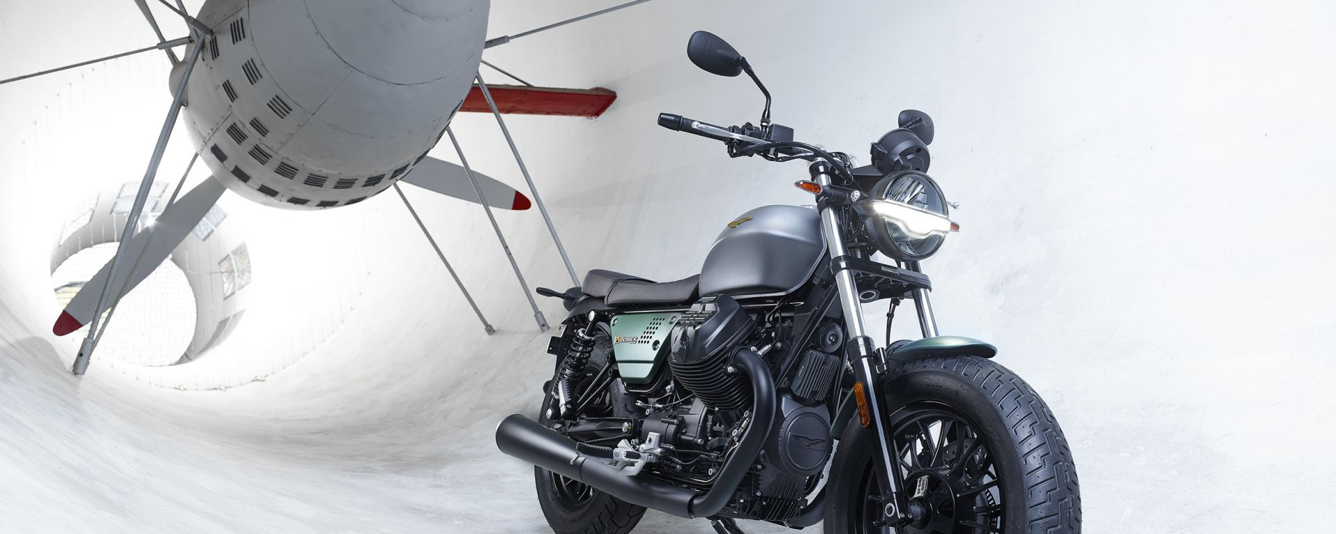 Moto Guzzi V9 Centenario