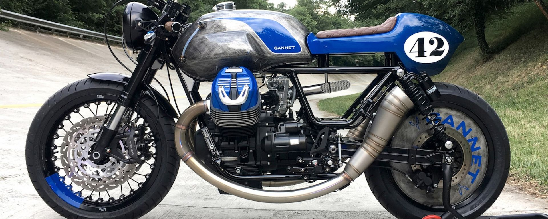 Moto Guzzi V9: una Special Imperiale