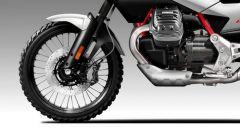 Moto Guzzi V90 TTR: l'anteriore è meno off-road, ma la ruota a raggi da 21