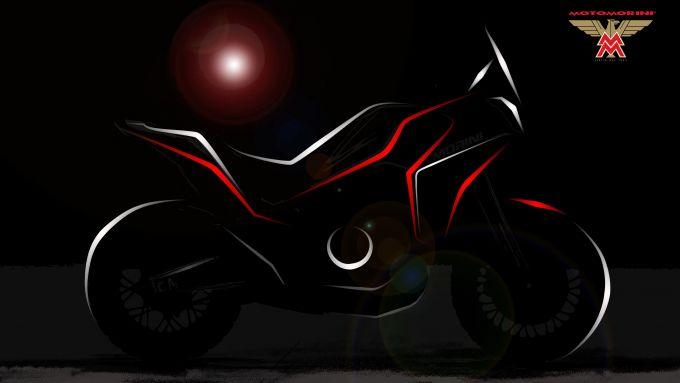Moto Morini a EICMA 2019. il primo teaser della versione Adventure