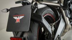 Moto Morini Corsaro 1200 ZZ, portatarga