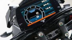 Moto Morini Corsaro 1200 ZZ, quadro strumenti
