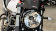 Moto Morini Corsaro ZT: dettaglio del nuovo faro