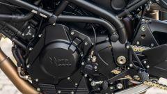 Moto Morini Corsaro ZT: il motore è il bicilindrico bialbero Corsa Corta da 1200 cc