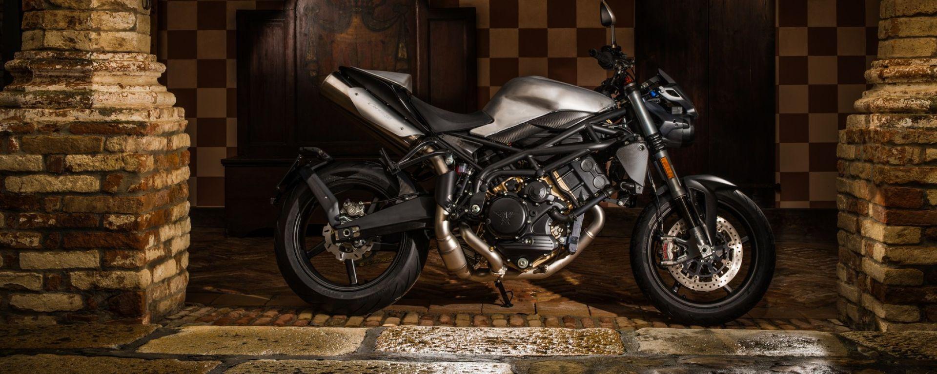 Moto Morini Corsaro80, prodotta solo in 8 esemplari
