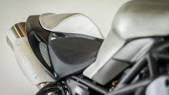 Moto Morini Corsaro80, sella monoposto