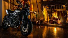 Moto Morini Corsaro80, serbatoio in alluminio