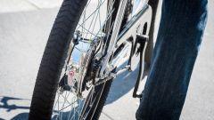 Moto Morini Limited E-Bike, gomma posteriore