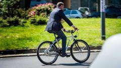 Moto Morini Limited E-Bike, in azione