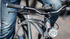 Moto Morini Limited E-Bike, vista anteriore