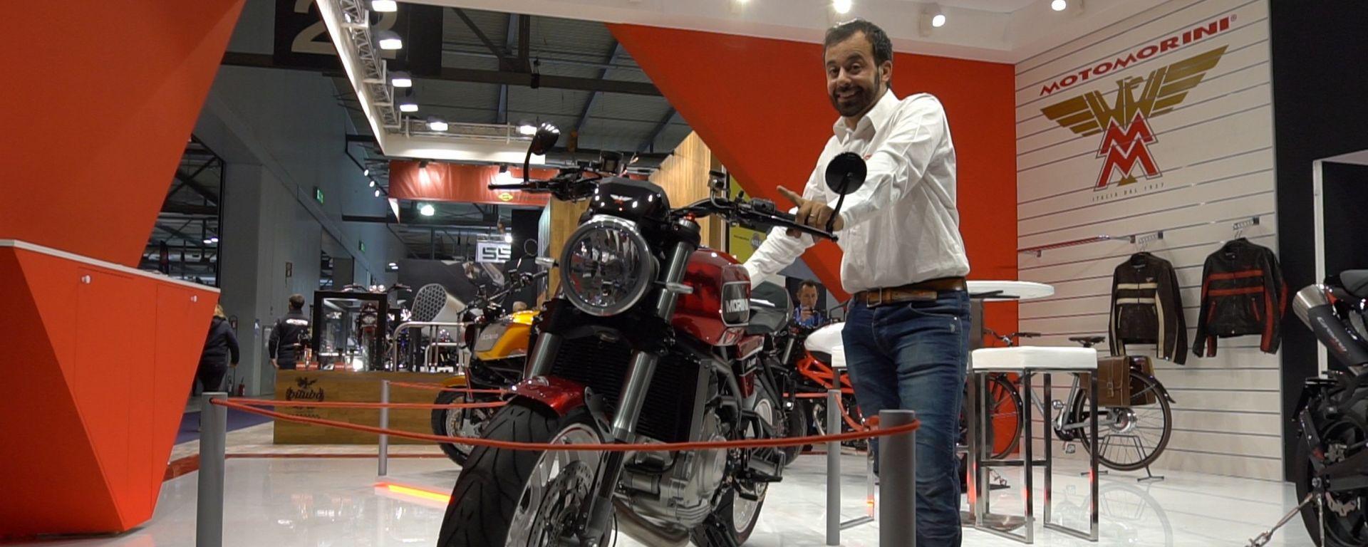 Moto Morini Milano, 80 anni di storia in una moto [VIDEO]