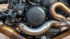 Moto Morini Milano: dettaglio dei carter motore