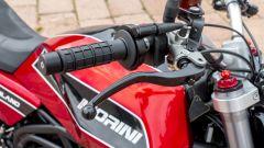 Moto Morini Milano: dettaglio leva freno