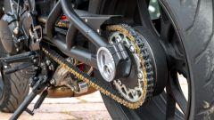 Moto Morini Milano: il forcellone in tubi
