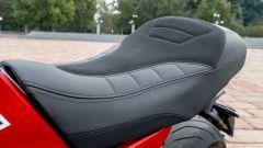 Moto Morini Milano: la sella è ben rifinita