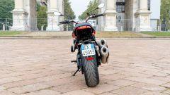 Moto Morini Milano: vista posteriore