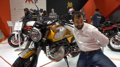 Moto Morini Scrambler: debutto a Eicma 2017 ]VIDEO] - Immagine: 1