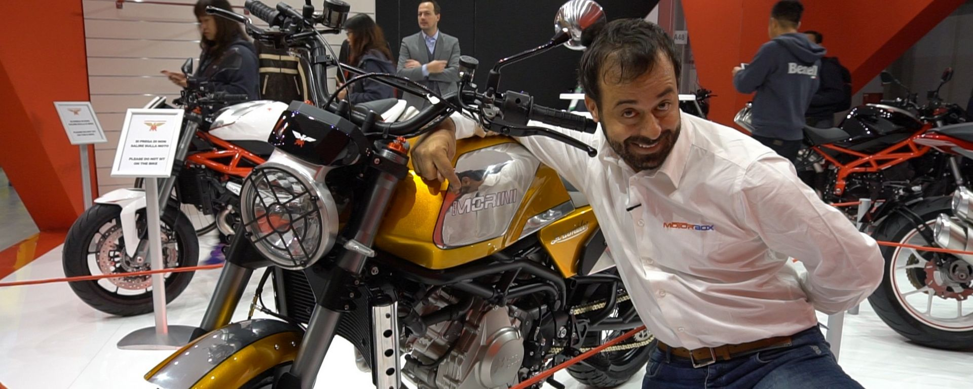 Moto Morini Scrambler: debutto a Eicma 2017 ]VIDEO]