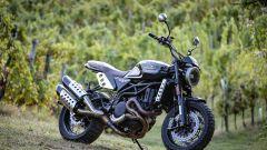 Moto Morini Super Scrambler 1200: 3/4 anteriore