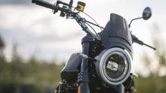 Moto Morini Super Scrambler 1200: il faro anteriore a LED