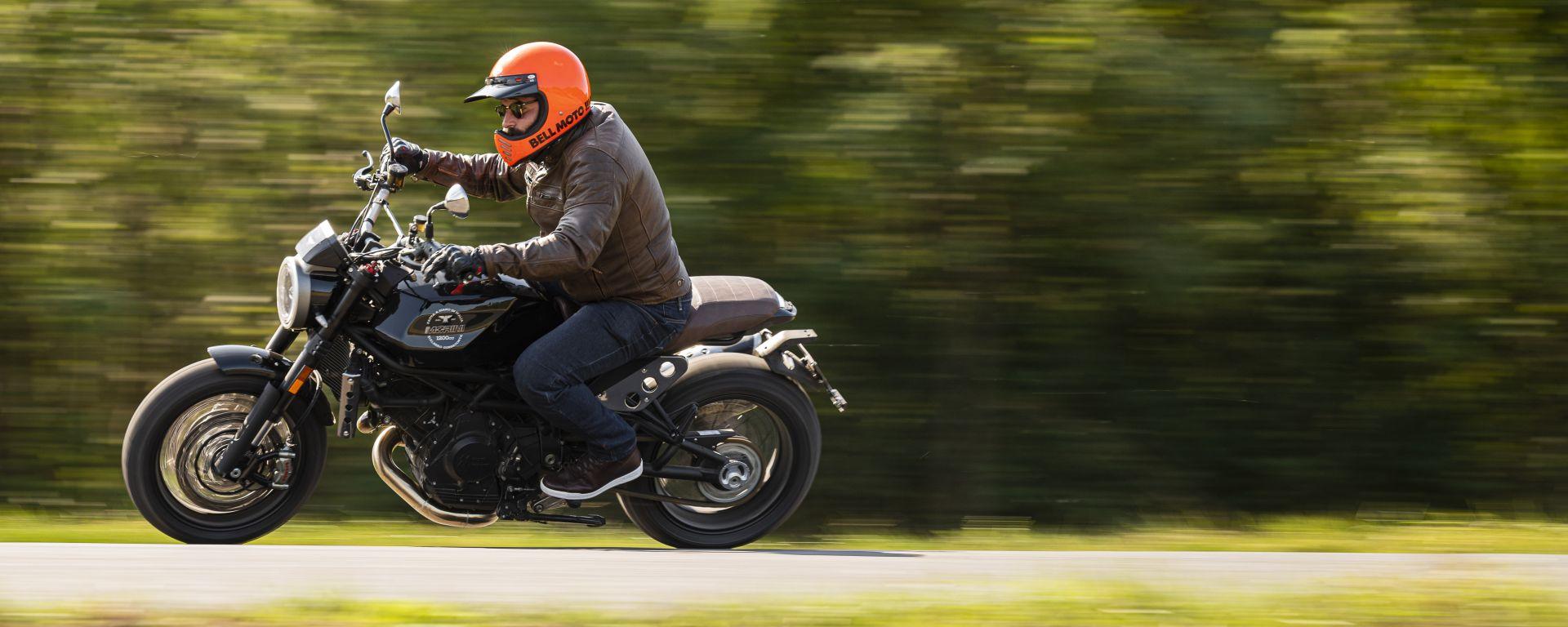 Moto Morini Super Scrambler 1200, inno alla guida analogica