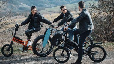 Moto Parilla Carbon e Trilix, e-bike ultra premium