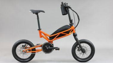 Moto Parilla Trilix, foldable da città