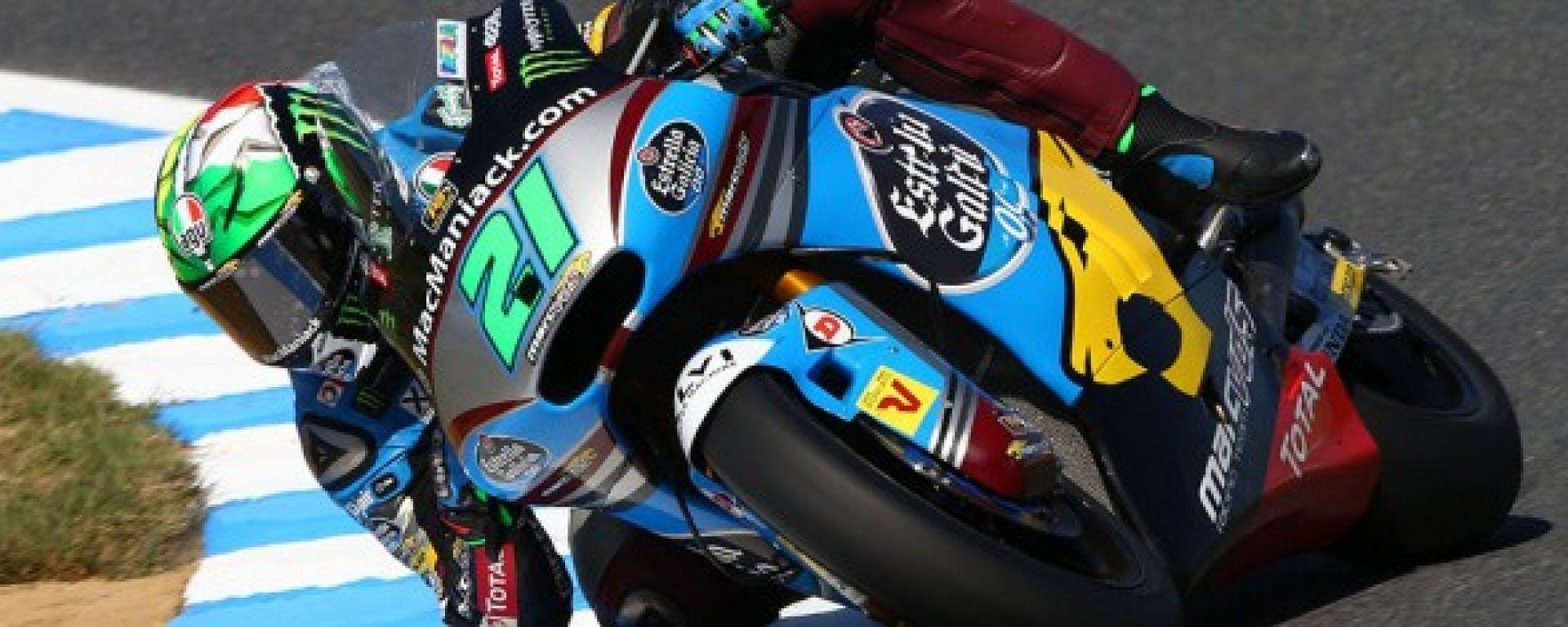 Moto2 2016: a Motegi vince Luthi, Morbidelli sul podio