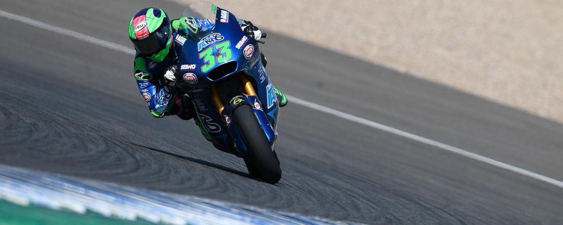 Moto2 GP Andalusia 2020, Jerez: Enea Bastianini (Team Italtrans)