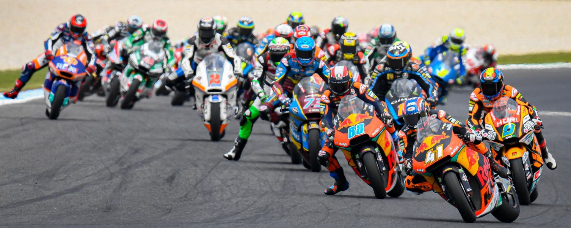 Moto2, GP Australia 2019, Phillip Island: la partenza