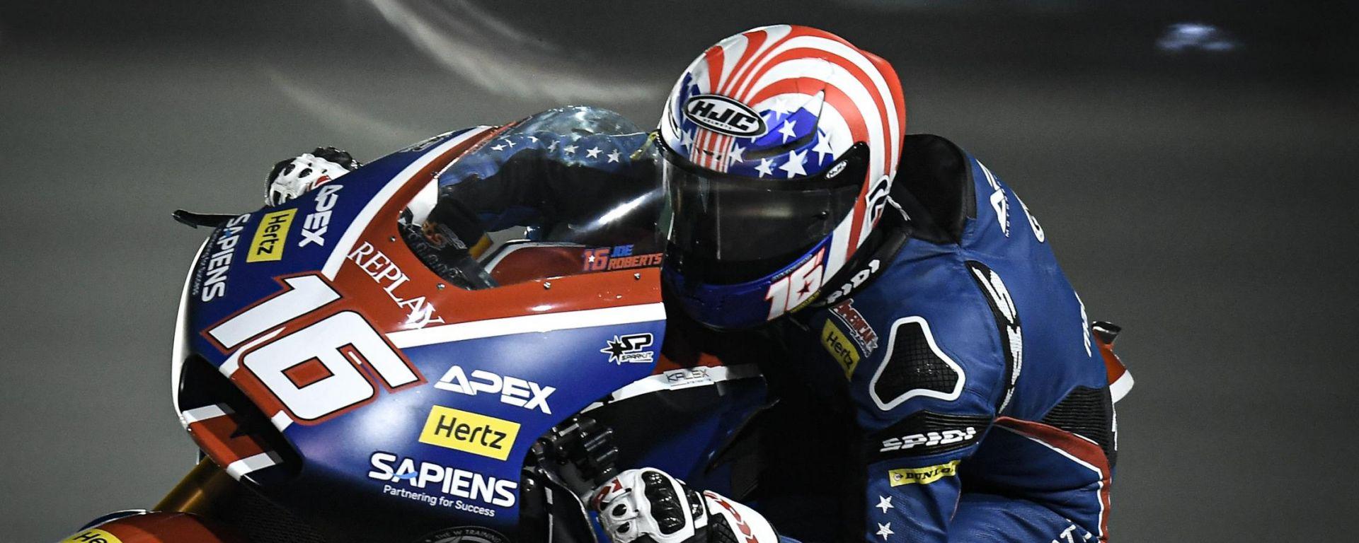 Moto2, GP Qatar 2020, Losail: Joe Roberts (Kalex)